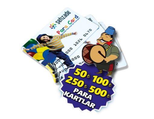 SEHZADE PARA KART 500 TL resmi