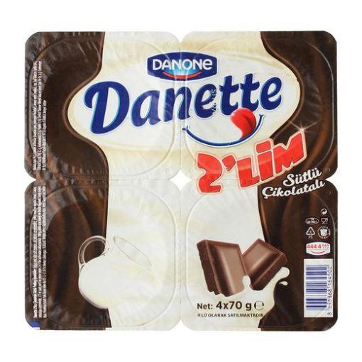 DANONE/DANETTE 4*70G 2-LIM resmi