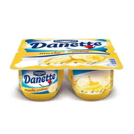 DANONE/DANETTE 4*70G MUZLU resmi