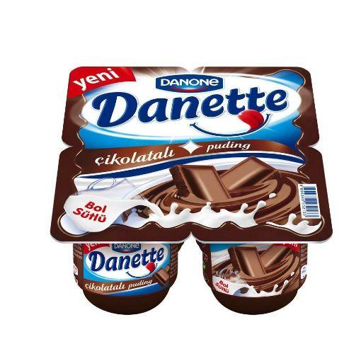 DANONE/DANETTE 4*70G CIKOLATA resmi