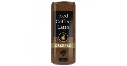 OBSESSO ICED COFFEE LATTE 250ML resmi